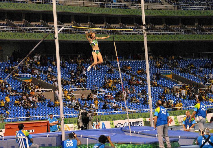 """'Engenhão'.   """"Estádio Olímpico João Havelange"""". # Rio de Janeiro, Brasil."""