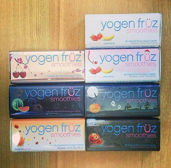 Are you a collector? Tag us in pics of your #YogenFruz smoothie candy collections!  Photo: @Lucie120