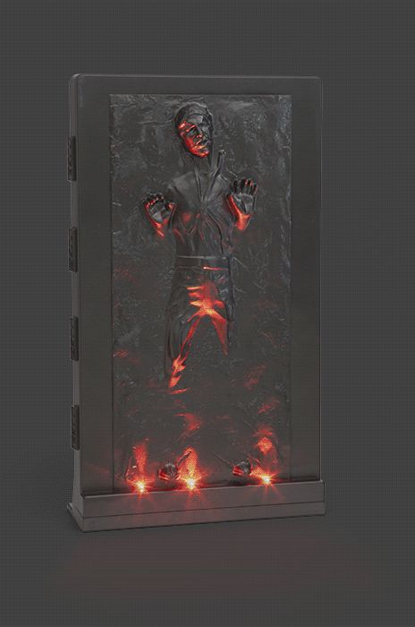 Han solo in carbonite 3d wall sculpture sculpture 3d wall and red led - Han solo carbonite wall art ...