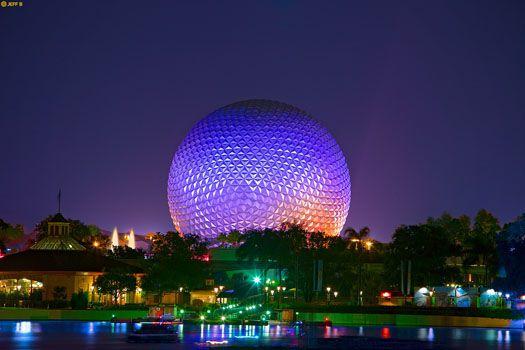 Epcot Center World Showcase, Orlando Florida
