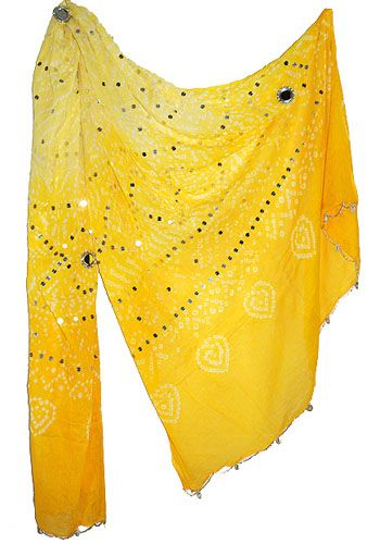 Stole For Women Cotton Bandhej Printed Mirror Work  Price: $10.99   Size: 90 x 40 Inches   For more products & details please visit our website.  http://www.zenamart.com/index.php?categoryID=279