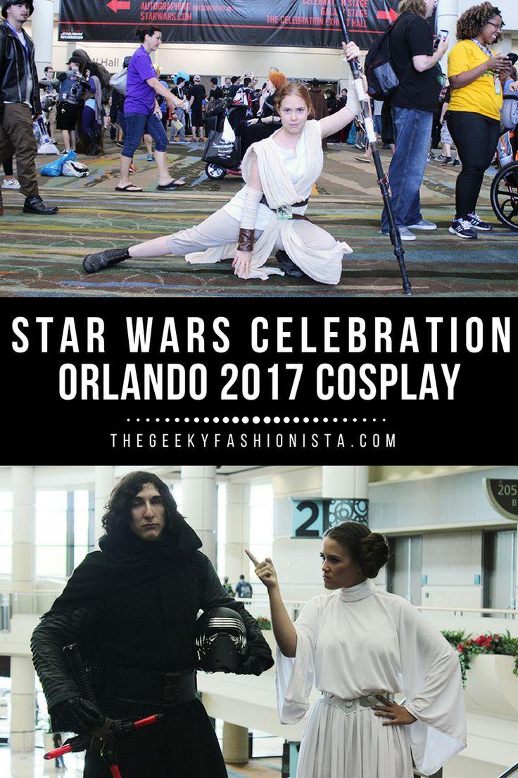 Star Wars Celebration Orlando Cosplay // The Geeky Fashionista