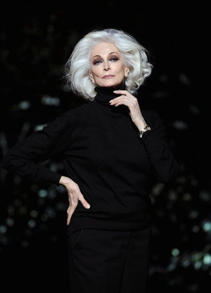 Carmen Dell'Orefice 80+years old and so beautiful