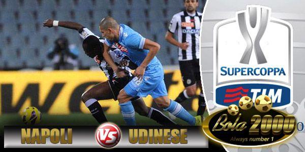 Prediksi Skor Bola Napoli vs Udinese 23 Jan 2015