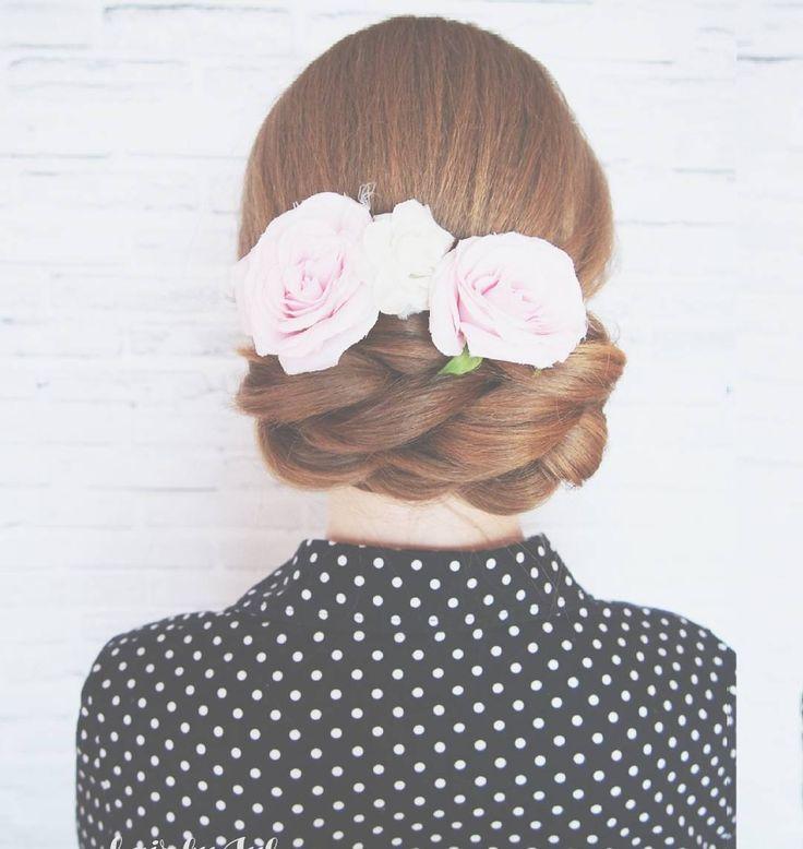 #365daysofbraids #day64 #braidschallenge #hairchallenge #warkocze #hotd #braidideas #hairstylist #hairblog #weddinghair #weddingupdo #updo #fryzura #wlosy #upiecie #braids