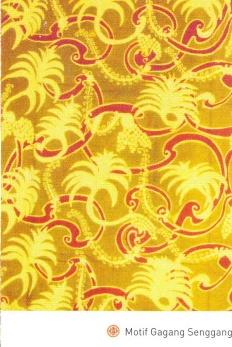 Batik Kuningan motif Gagang Senggang