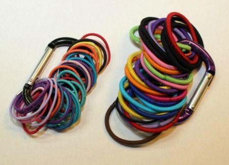 organizing hair bands | Organizing Hair Accessories | ThriftyFun