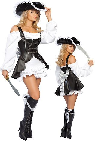 Sexy Pirate Halloween Costumes for Women
