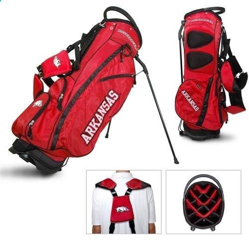 Golf Bags - Arkansas Razorback Standup Golf Bag - Golf Stand Bag