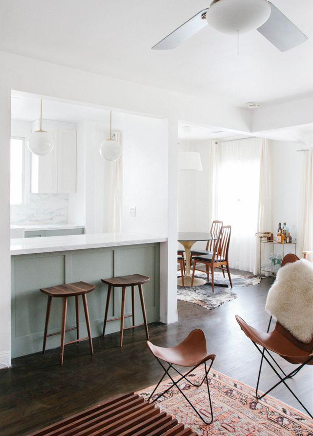 Home Progress: Kitchen Pendants & Breaking Ground