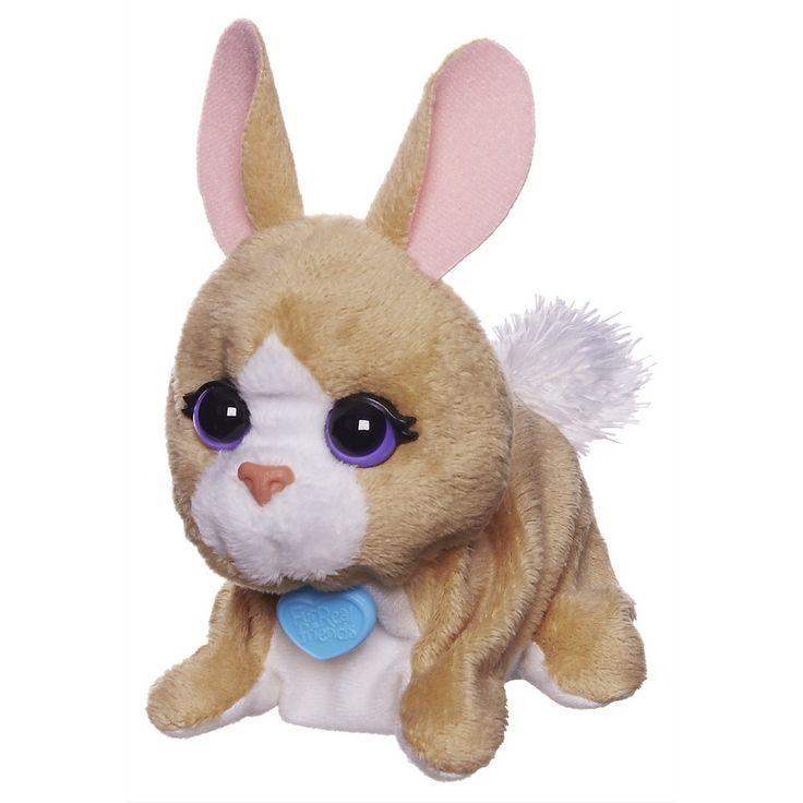 FurReal Friends Luvimals Sweet Singin' Bunny Pet Fur