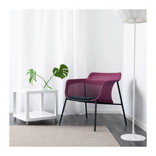 IKEA PS 2017 Lenestol - rosa/blå - IKEA