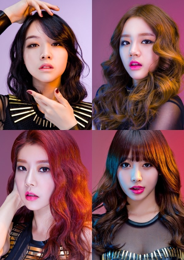 Girl's Day want #1 with 'Expectation'