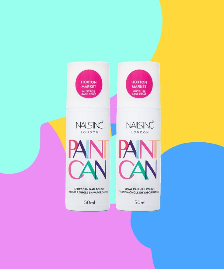 Spray On Nail Polish Nails Inc | Nails Inc. is coming out with a spray paint nail polish. #refinery29 http://www.refinery29.com/2015/11/97146/nails-inc-paint-can-nail-polish