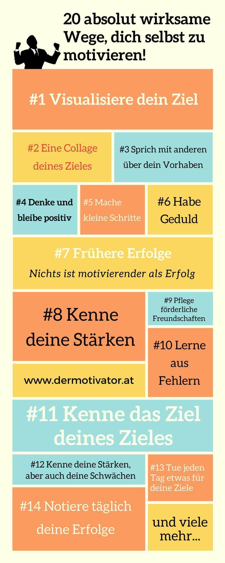 20 Tipps zur Selbstmotivation – einfach, immer und überall motiviert sein