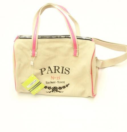 Geanta dama #Paris (in cazul in care ai o nostalgie fata de acest oras sau pentru ca pur si simplu esti indragostita de Paris :)