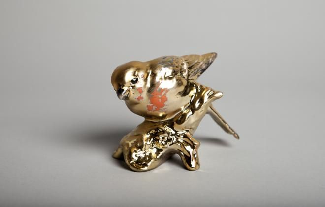 Matthew Darbyshire, Goldfinch 1-10 (2011). Limited edition for the Zabludowicz Collection