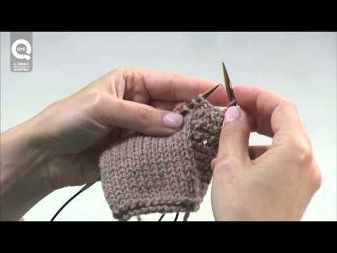 Realizzare a maglia un'asola semplice. Presenta Emma Fassio - YouTube