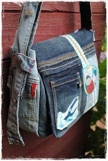 ber ideen zu jeans tasche auf pinterest denim tasche denim handtasche und recycelte. Black Bedroom Furniture Sets. Home Design Ideas