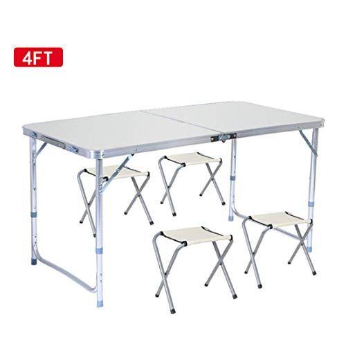 Sunreal Pliante Table de Camping 12m Hauteur réglable ...