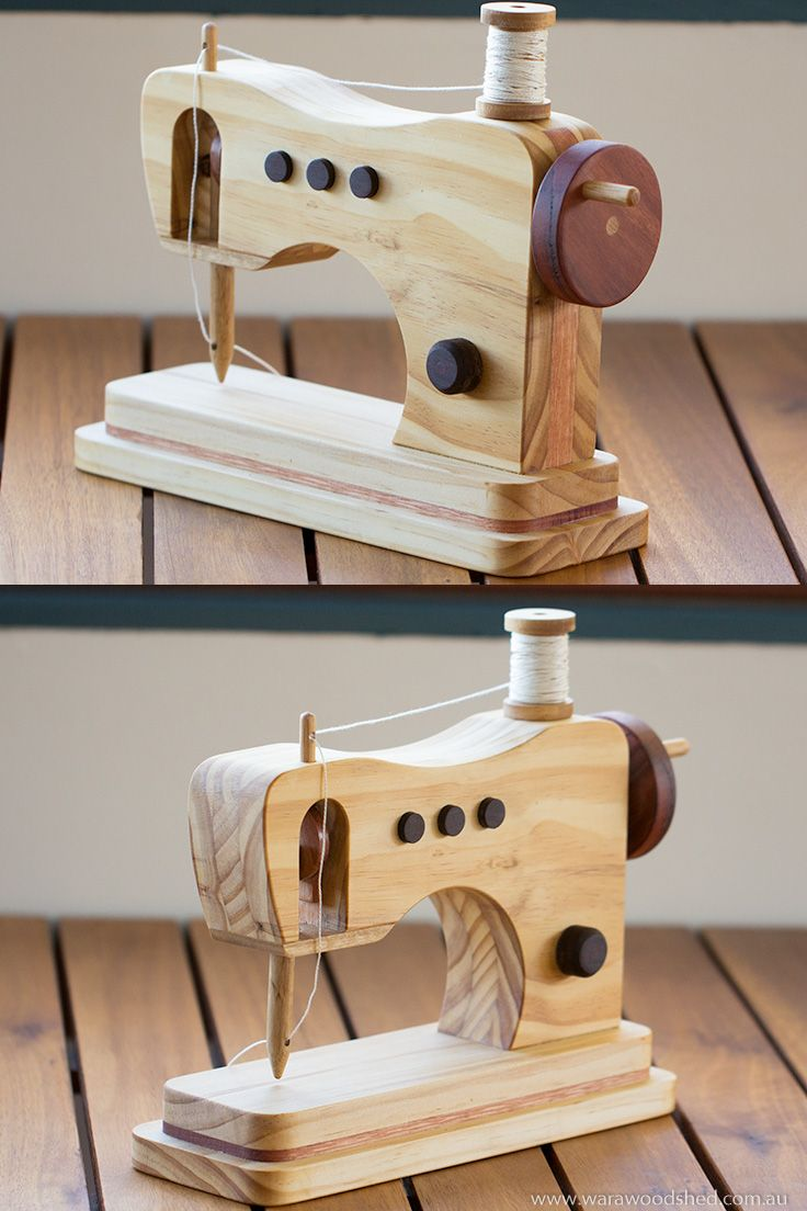 Wooden Toy Sewing Machine Diy Toys Making Wooden Toys