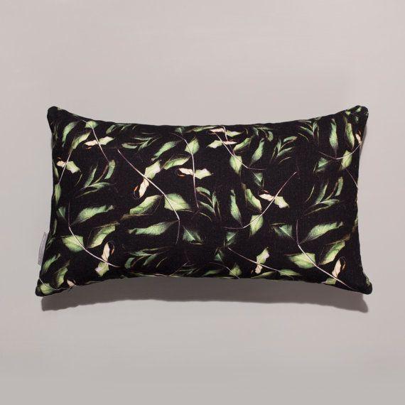 30x50cm 'Rose Leaf' Bolster Cushion by SCastilloLifestyle on Etsy