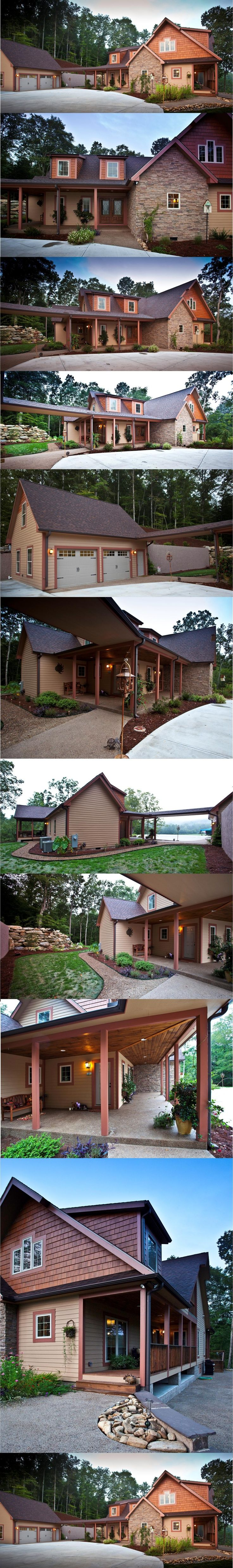 21 best lakefront waterfront home designs images on for Lakefront modular home plans
