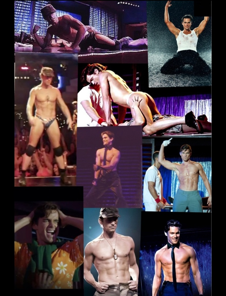 Matt Bomer in Magic Mike! 50 angles of Ken