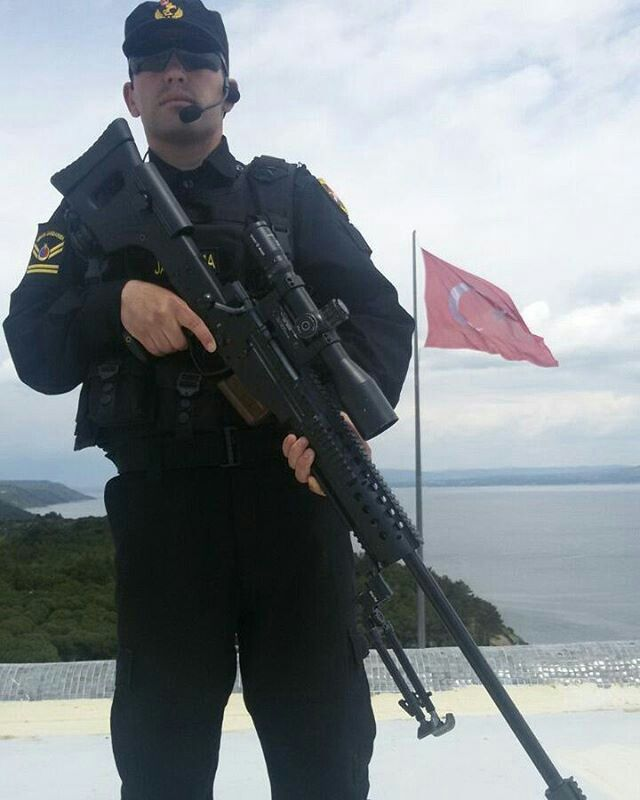 Turkey Special Operation Gendarme-JÖAK- and Turkey Expert Sniper Rifle JNG-90 (JMK BORA-12)