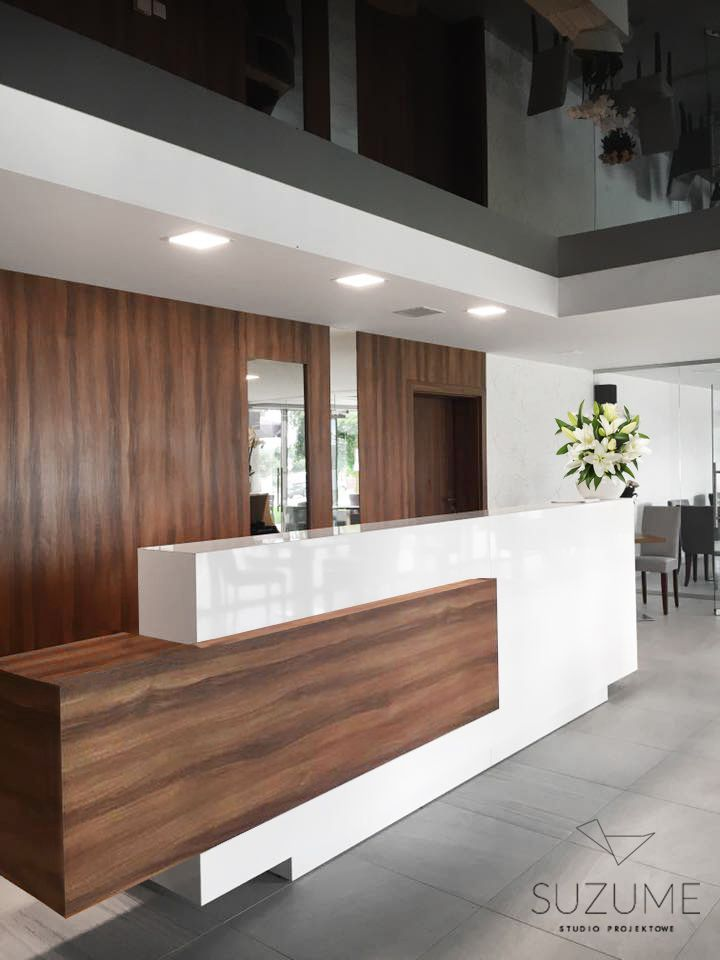 Reception desk in health restor, Ciechocinek