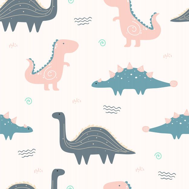 Cute Dinosaur Animal Seamless Pattern For Wallpaper In 2020 Dinosaur Wallpaper Sparkle Wallpaper Dinosaur Background