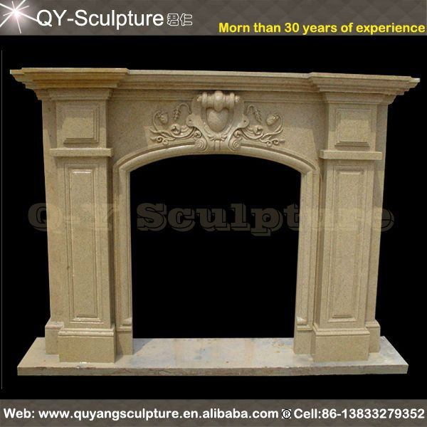 Cheap Fireplace Mantel  1.Material:Sandstone  2.Size:Customized  3.Low Price  4.High Quality