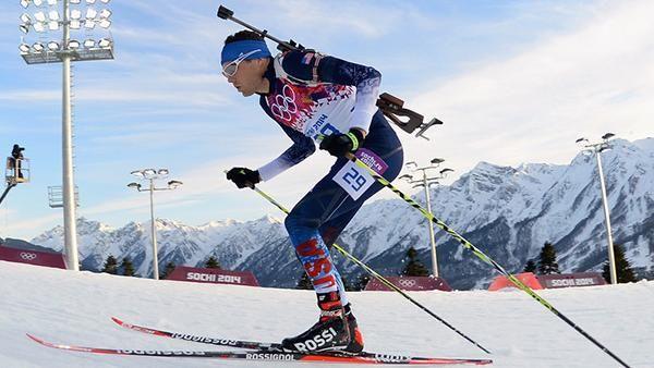 Лыжно-биатлонная трасса комплекса Лаура. Олимпиада 2014 в Сочи #olympicgames #sochi2014 #спортивноеосвещение #мачты #abacusengineering