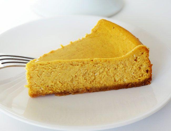 Gluténmentes sütőtökös cheesecake recept