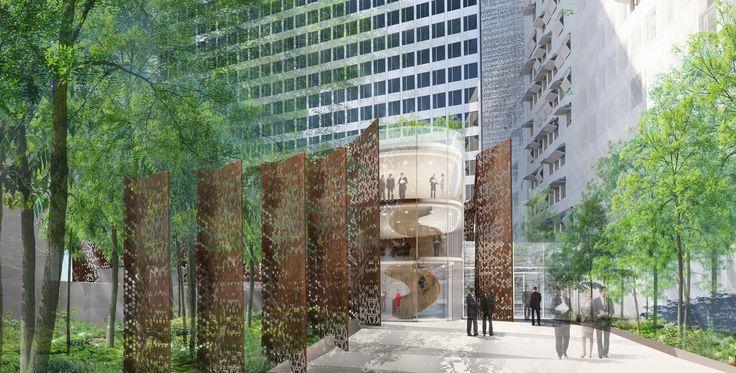 10 GRENELLE - Paris 15ème (75) - MO: SCI LA MONDIALE IMMO - Architectes: F-S. BRAUN & ASSOCIES - Photographe: NR - NF HQE Bâtiments Tertiaires - Niveau HQE Exceptionnel