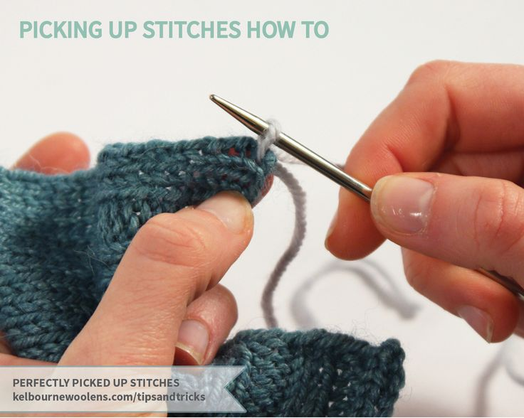 Knitting Picking Up Stitches Sleeves : 1000+ images about Knitting on Pinterest