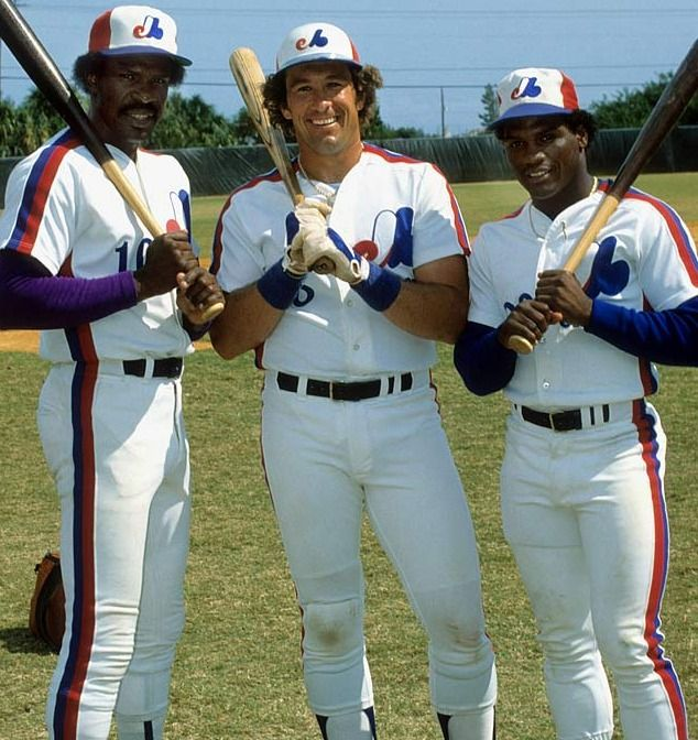 Andre Dawson, Gary Carter, and Tim Raines - Montreal Expos (1984)