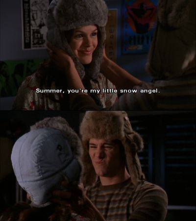 seth and summer  -  the oc