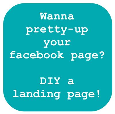 create a facebook landing pageLand Pages, Crafts Diy Ideas, Social Media, Crafts Whatever, Landing Pages, Glimpse Parties, Facebook Land, How To, Weeks Catching