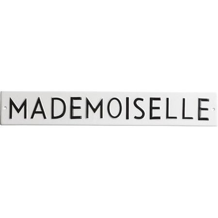 Mademoiselle Porcelain Wall Decor  at Joss and Main