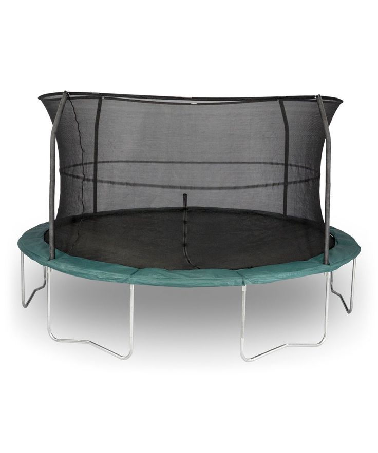 Dark Green 14' Trampoline Set