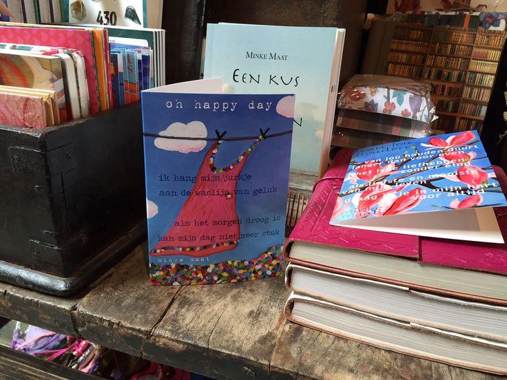 Mijn #poëziekaarten en #gedichtenbundels zijn o.a. te koop bij woonwinkel Parvani in Kamerik.