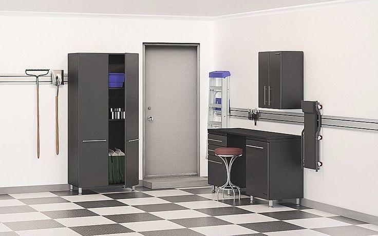 Five Piece Garage Storage Cabinets - Car Guy Garage