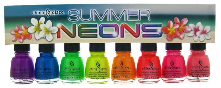 China glaze neon summer set