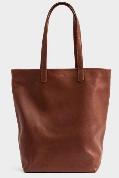 New at NoteMaker: Baggu. A fabulous bag range, including totes, shopping bags and backpacks. This leather bag is rather hot!