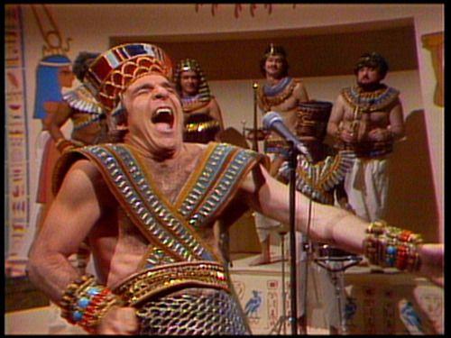 Steve Martin as KING TUT on snl, 1978