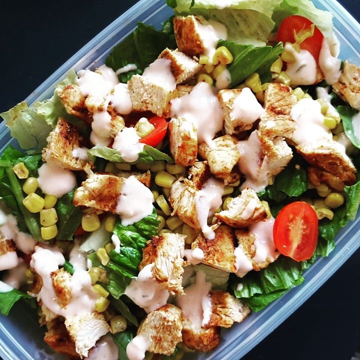 Southwest Spicy Chicken Salad- Fit Me Baby