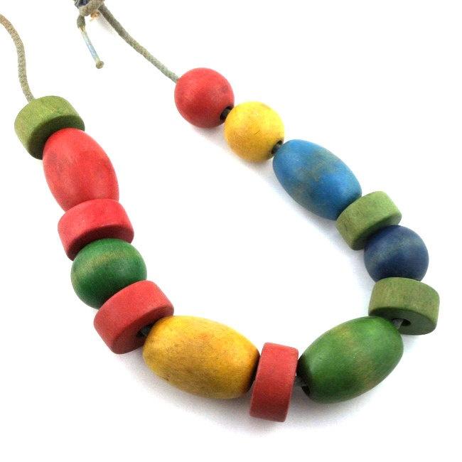 Vintage Wood Beads 41