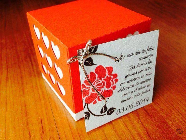 Caja Corazón con etiqueta