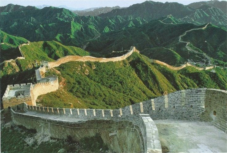 La Atalaya Nocturna: Lunes de postal: La muralla China (II)